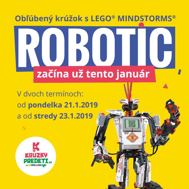 Robotic nový krúžok