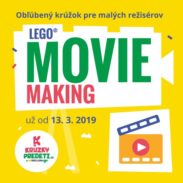 LEGO movie making
